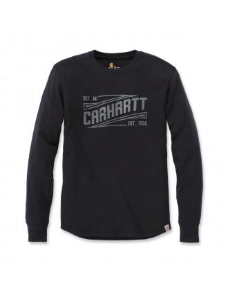T-shirt manches longues avec logo Vintage