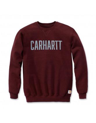 Sweat col rond logo Carhartt