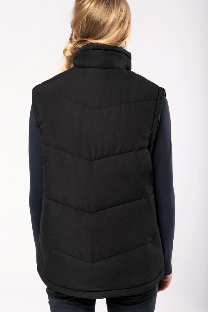 veste  sans manche noire