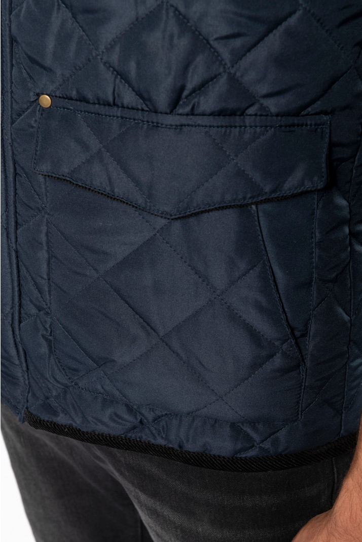 poche de veste matelassée