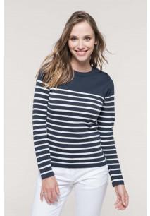 Pull marin femme