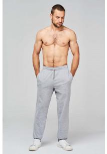 Pantalon de jogging en coton léger unisexe