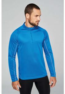Sweat running 1/4 zip homme