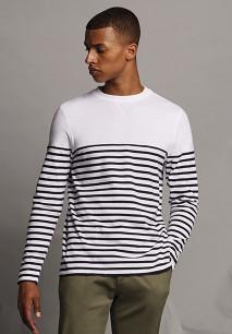 T-shirt breton à manches longues