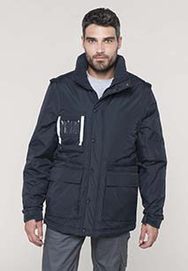 PARKA WORKWEAR MANCHES AMOVIBLES