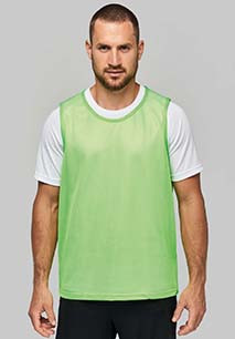 CHASUBLE EN FILET LÉGER MULTISPORTS