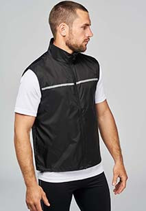 RUNNER - GILET D'ENTRAÎNEMENT DOS FILET