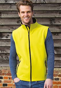 Bodywarmer Softshell Homme Printable