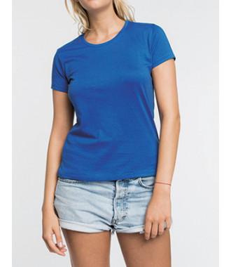 T-Shirt col rond manches courtes femme