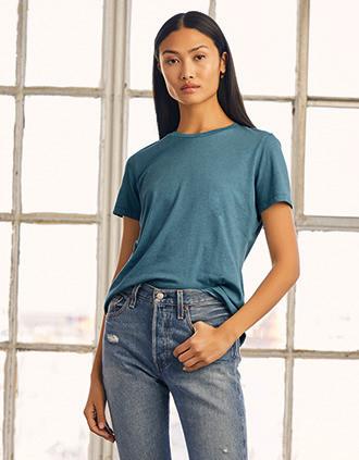 T-shirt col rond femme Heather