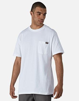T-shirt poche logo homme (WS436)