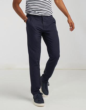 Pantalon Chino Stretch Homme
