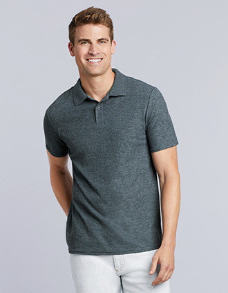 Polo Homme Softstyle Double Piqué