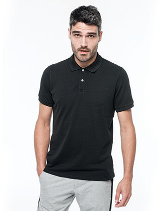 Polo Supima® manches courtes homme