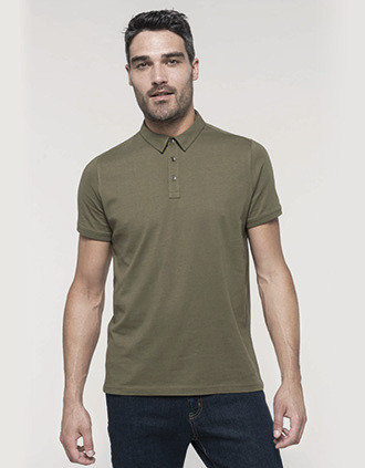 Polo jersey manches courtes homme