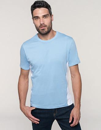 Tiger > t-shirt bicolore manches courtes