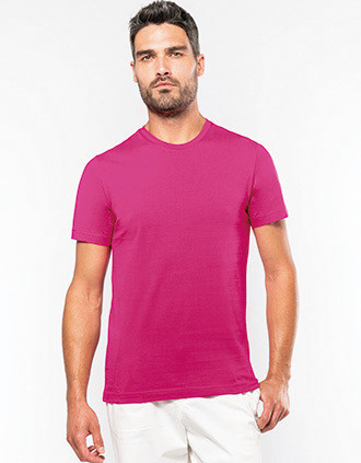 T-shirt col rond manches courtes