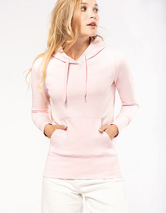 Sweat-shirt écoresponsable à capuche femme