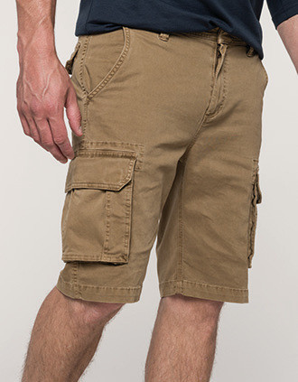 Bermuda multipoches homme