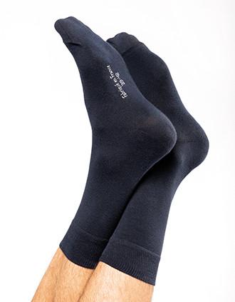 Chaussettes de ville mi-hautes coton Bio Origine France Garantie