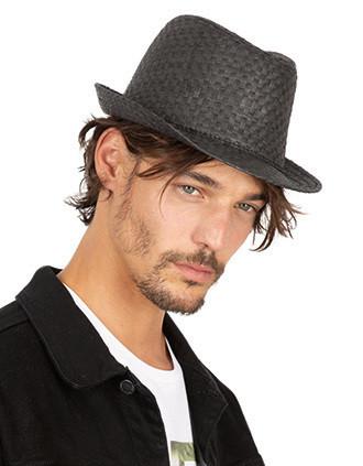 Chapeau de paille style Panama rétro