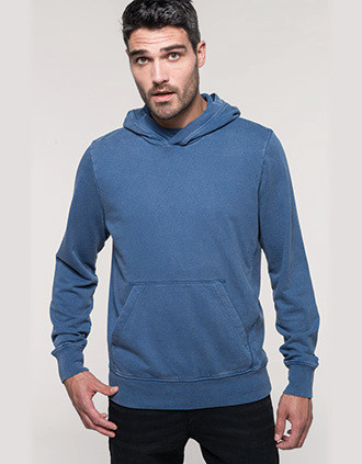 Sweat-shirt à capuche French Terry homme