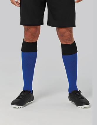 Chaussettes de sport bicolores unisexe
