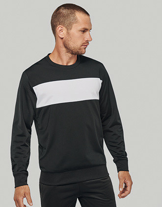 Sweat-shirt polyester homme