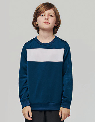 Sweat-shirt polyester enfant
