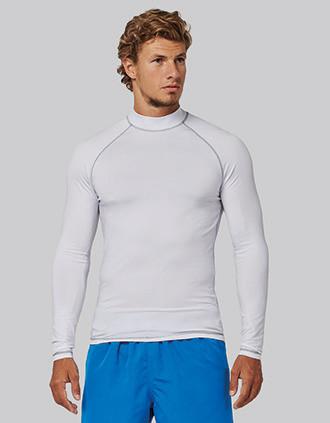 T-shirt technique à manches longues avec protection anti-UV unisexe