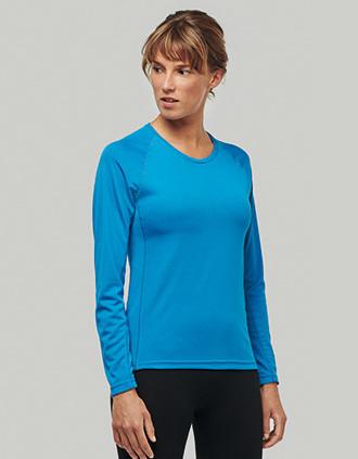 T-shirt de sport manches longues femme
