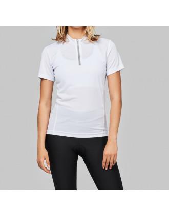 T-shirt de cycliste manches courtes femme