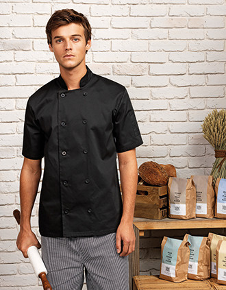 Veste de cuisine manches courtes