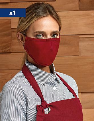 Masque 3 couches réutilisable - Cordons ajustables - AFNOR UNS1