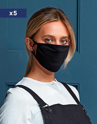 Masque de protection antimicrobien et réutilisable - AFNOR UNS 1
