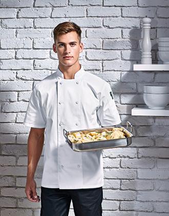 Veste chef cuisinier manches courtes Coolchecker®