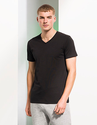 T-SHIRT HOMME COL V FEEL GOOD