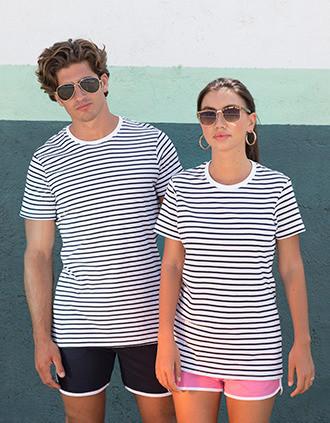T-shirt Rayé unisexe
