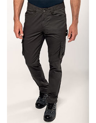 Pantalon multipoches écoresponsable
