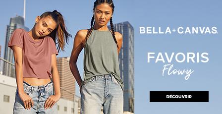 Bella Canvas T-shirts flowy